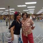 Sarita & childhood friend Kelly